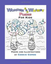 WONDER AND WHIMSY POEMS FOR KIDS by Cookie Combs