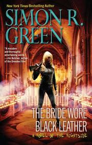 Cover art for THE BRIDE WORE BLACK LEATHER