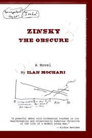 Zinsky the Obscure by Ilan Mochari