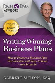 WRITING WINNING BUSINESS PLANS by Garrett Sutton