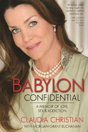 BABYLON CONFIDENTIAL by Claudia Christian
