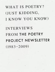 WHAT IS POETRY? (JUST KIDDING, I KNOW YOU KNOW) by Anselm Berrigan