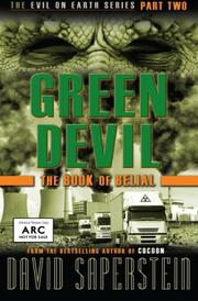 GREEN DEVIL by David Saperstein