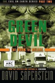 GREEN DEVIL by David Saperstein