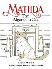 Matilda The Algonquin Cat by Leslie Martini
