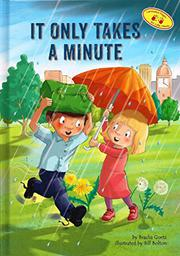 IT ONLY TAKES A MINUTE by Bracha  Goetz