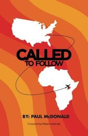 CALLED TO FOLLOW by Paul McDonald