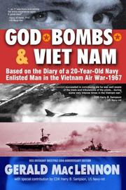 GOD, BOMBS & VIET NAM by Gerald MacLennon