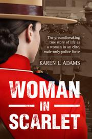 WOMAN IN SCARLET Cover