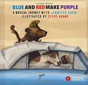 BLUE AND RED MAKE PURPLE by Jennifer Gasoi