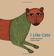 I LIKE CATS by Anushka Ravishankar