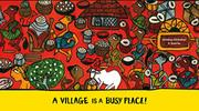 A VILLAGE IS A BUSY PLACE! by V. Geetha
