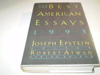 THE BEST AMERICAN ESSAYS 1993
