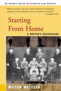 STARTING FROM HOME