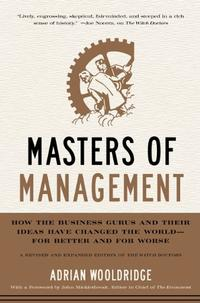 MASTERS OF MANAGEMENT