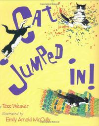 CAT JUMPED IN!