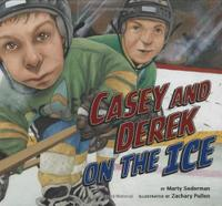 CASEY AND DEREK ON THE ICE