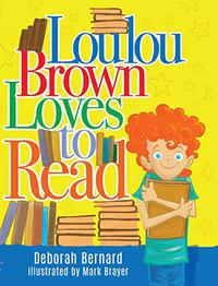 LOULOU BROWN LOVES TO READ