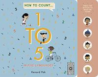 HOW TO COUNT 1 TO 5 IN FIVE LANGUAGES