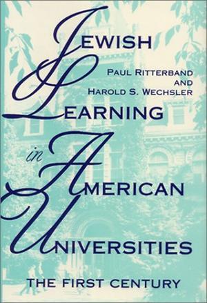 JEWISH LEARNING IN AMERICAN UNIVERSITIES