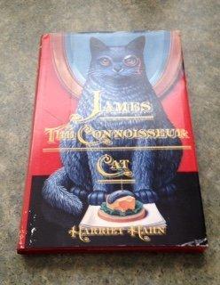 JAMES, THE CONNOISSEUR CAT