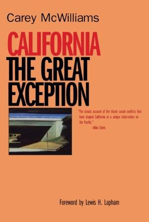 CALIFORNIA : The Great Exception