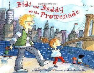 DIDI AND DADDY ON THE PROMENADE