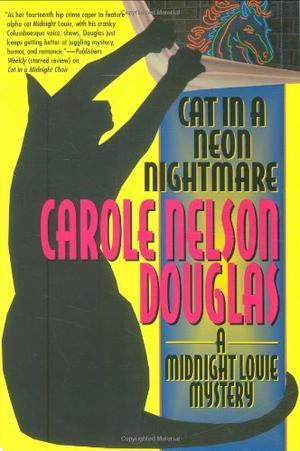 CAT IN A NEON NIGHTMARE