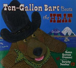 TEN-GALLON BART BEATS THE HEAT