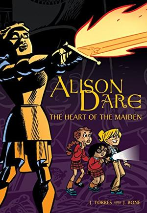 ALISON DARE: THE HEART OF THE MAIDEN