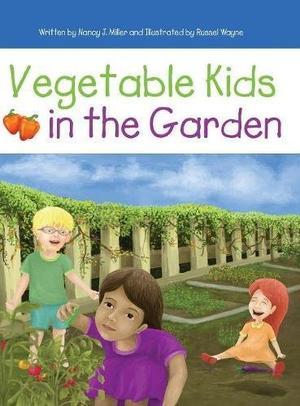 Vegetable Kids in the Garden