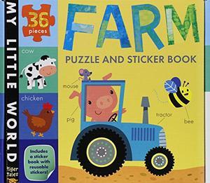 FARM PUZZLE AND STICKER BOOK