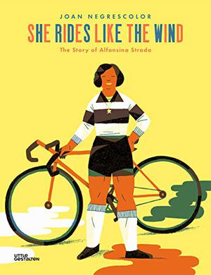 SHE RIDES LIKE THE WIND