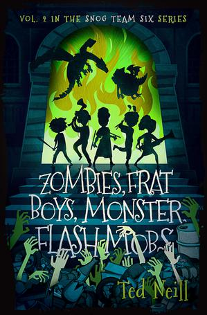 ZOMBIES, FRAT BOYS, MONSTER FLASH MOBS