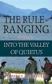 THE RULE OF RANGING by Timothy M. Kestrel