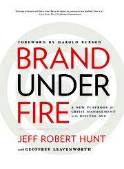 BRAND UNDER FIRE by Jeff Robert  Hunt