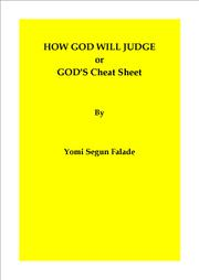 HOW GOD WILL JUDGE OR GOD'S CHEAT SHEET Cover