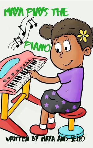 MAYA PLAYS THE PIANO